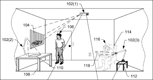 Amazon patents outline vision for headset-free augmented
