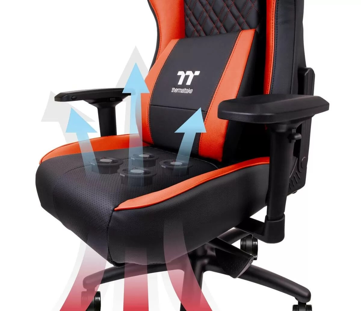 Thermaltakes new gaming chair cools your butt with four