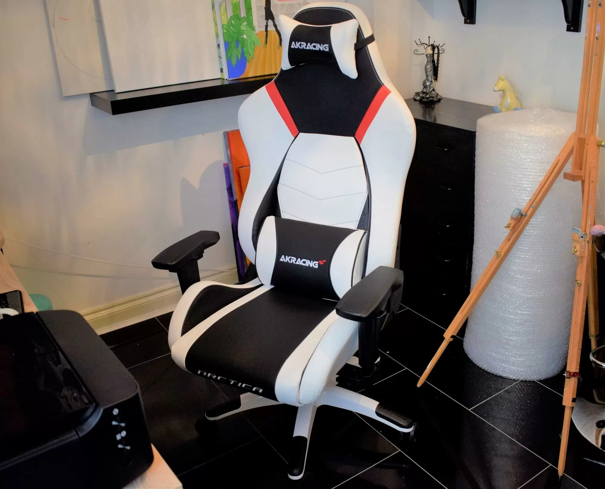 Will Chair Akracing Arctica Gaming Chair Review Style Meets Comfort Techspot