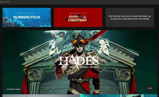 Epic Games Store Goes Live Free Games And Surprise Titles