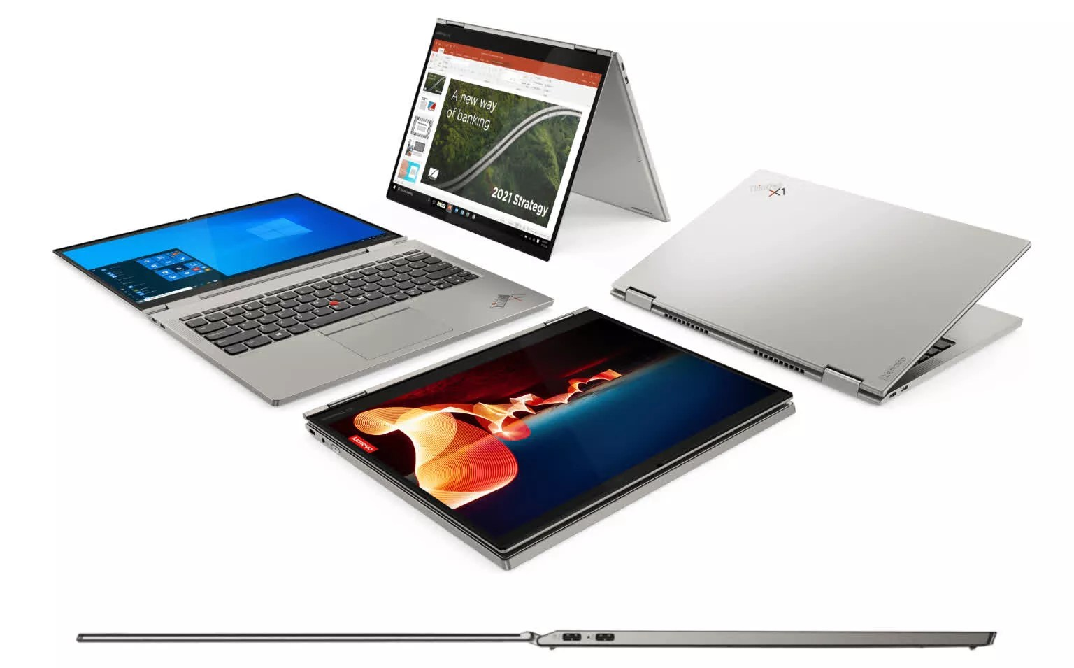 Lenovo updates ThinkPad lineup with its thinnest-ever X1 Titanium Yoga 2-in-1