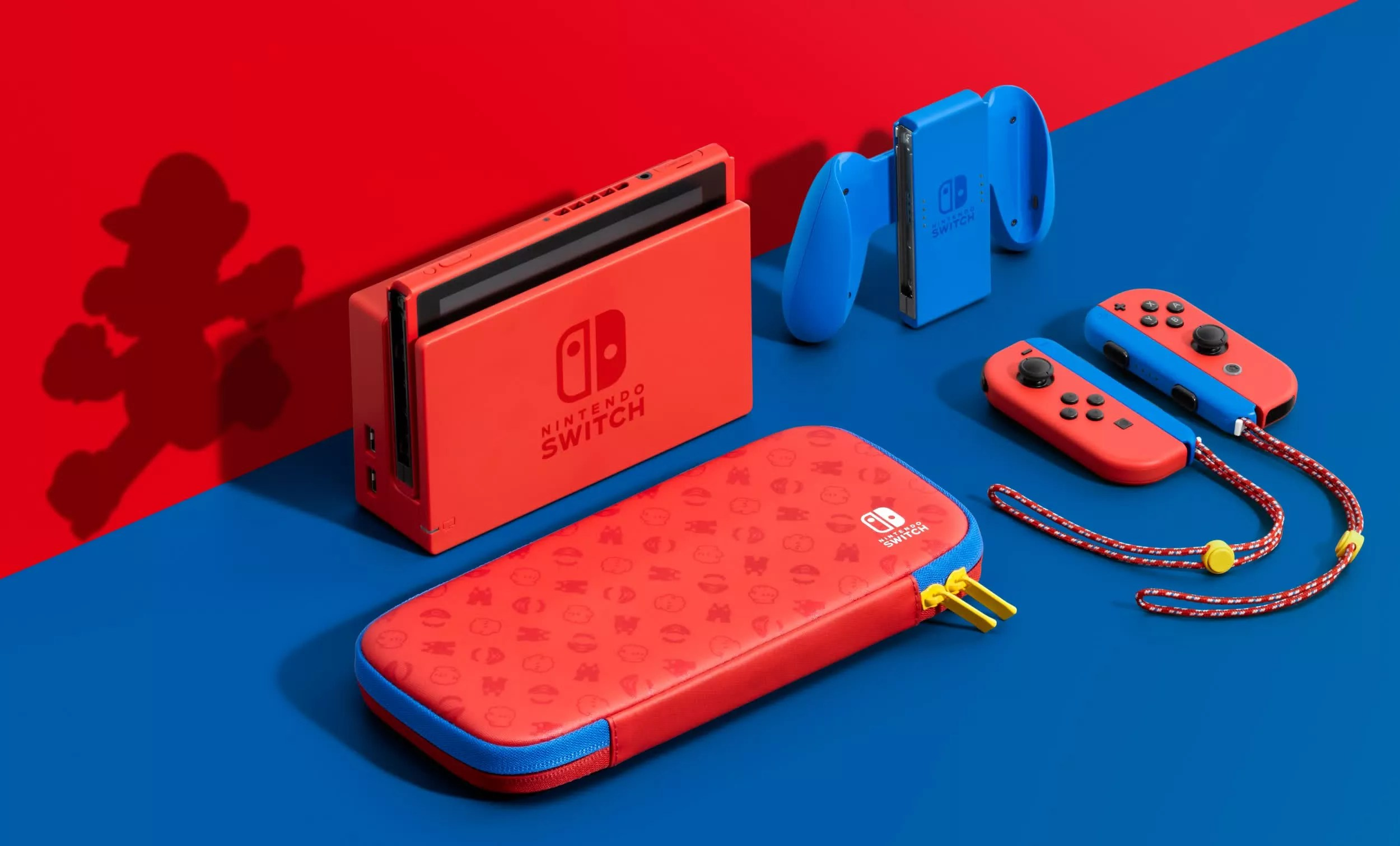 Nintendo introduces Mario Red & Blue Edition Switch, drops new Super Mario 3D World + Bowser's Fury trailer