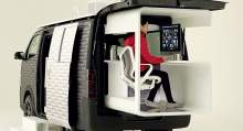 Nissan's concept vehicle takes remote working to the extreme