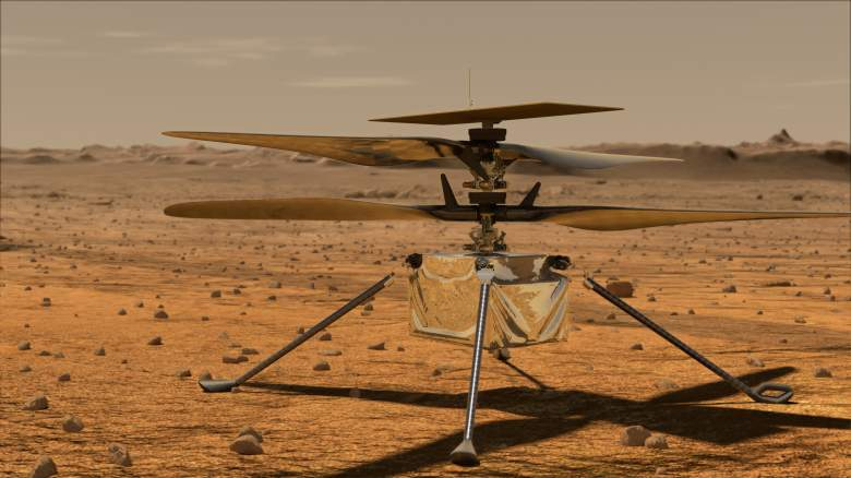 NASA's 'Mars Helicopter' Ingenuity will reach the Red Planet next month