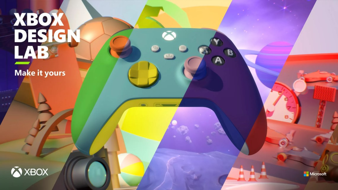Xbox Design Lab offers over 30 million color combinations for custom controllers