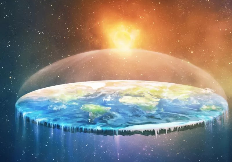 Wallpaper Border Falling Off Study Blames Youtube For Spread Of Flat Earth Movement