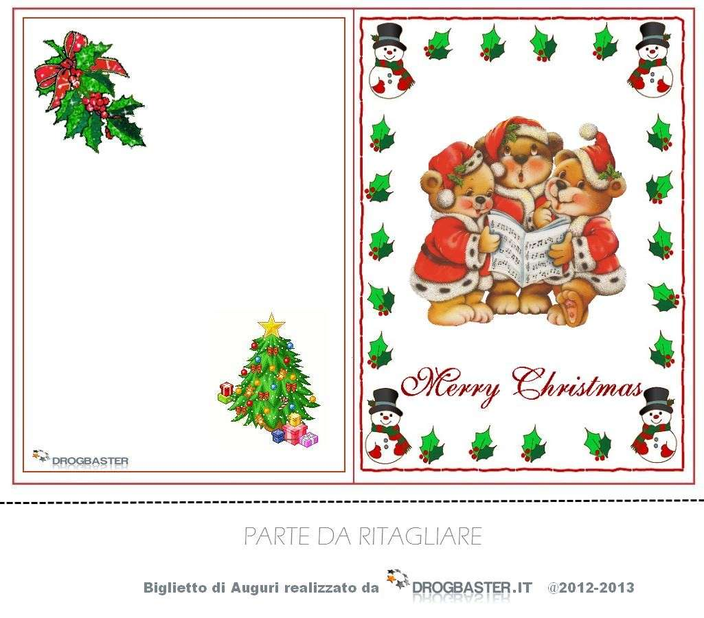 biglietti di auguri per Natale Foto 58  Tecnocino