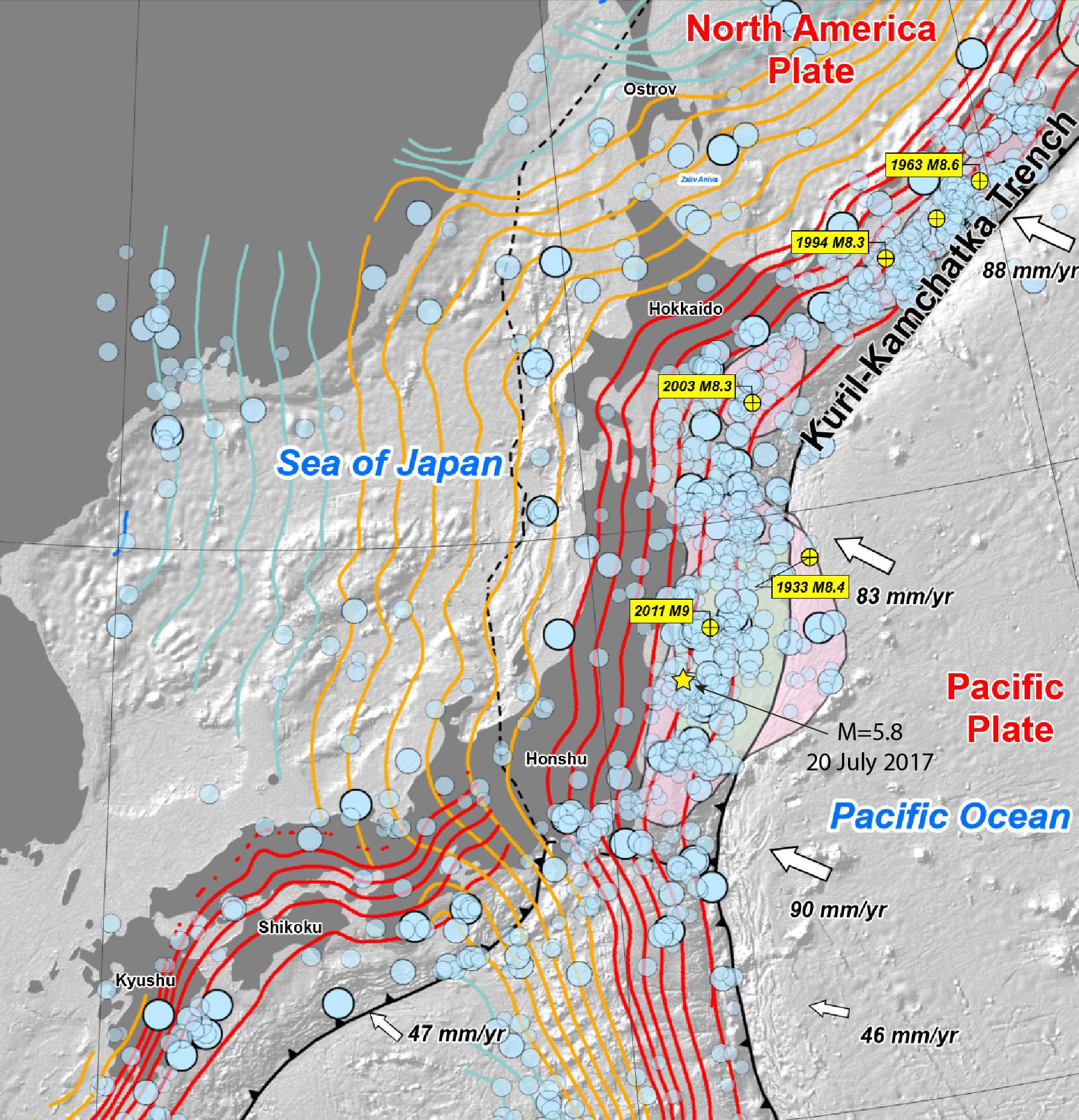Temblor Science Springs - Los angeles fault zone map