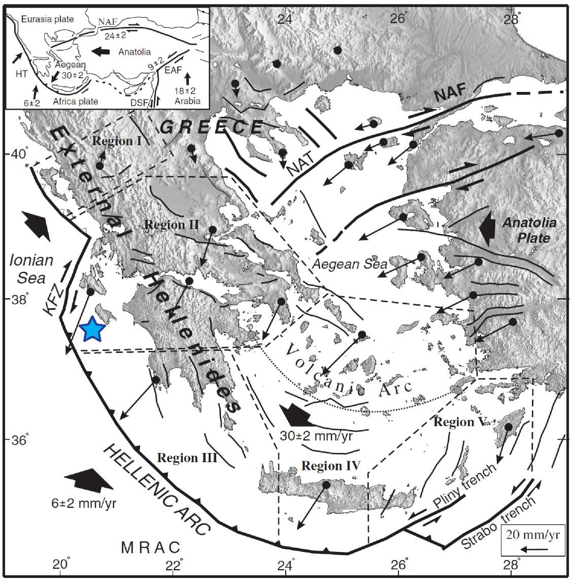 Greek Earthquake In A Region Of High Seismic Hazard
