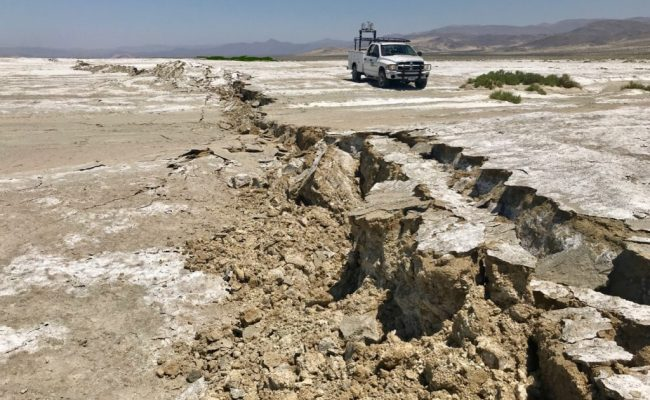 Ridgecrest Earthquake Shut Down Cross Fault Aftershocks