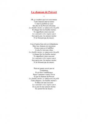 Qui A Chanté « La Chanson De Prévert » En 1981 ? : chanté, chanson, prévert, Chanson, Prévert, Paroles, Tête, Modeler