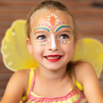 maquillage de papillon simple