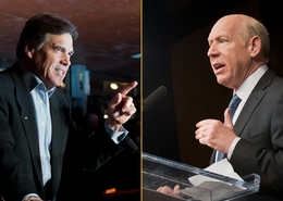 Rick Perry, Bill White