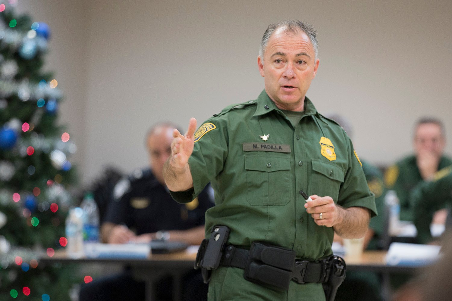 U.S. Border Patrol Rio Grande Valley Sector Chief Manuel Padilla