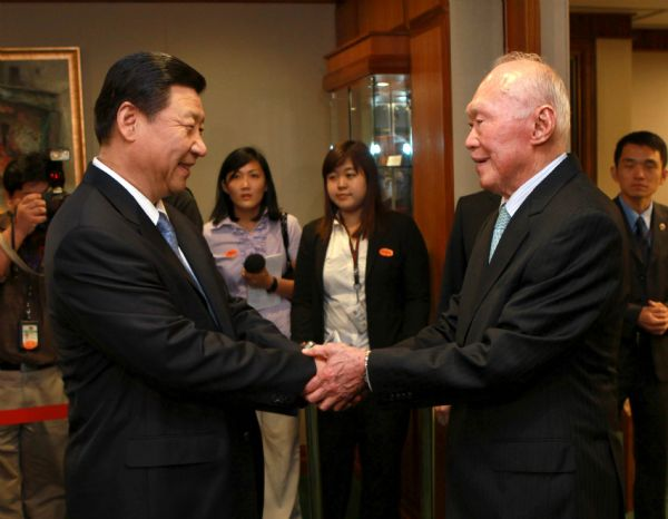 Image result for lee kuan yew and deng xiaoping