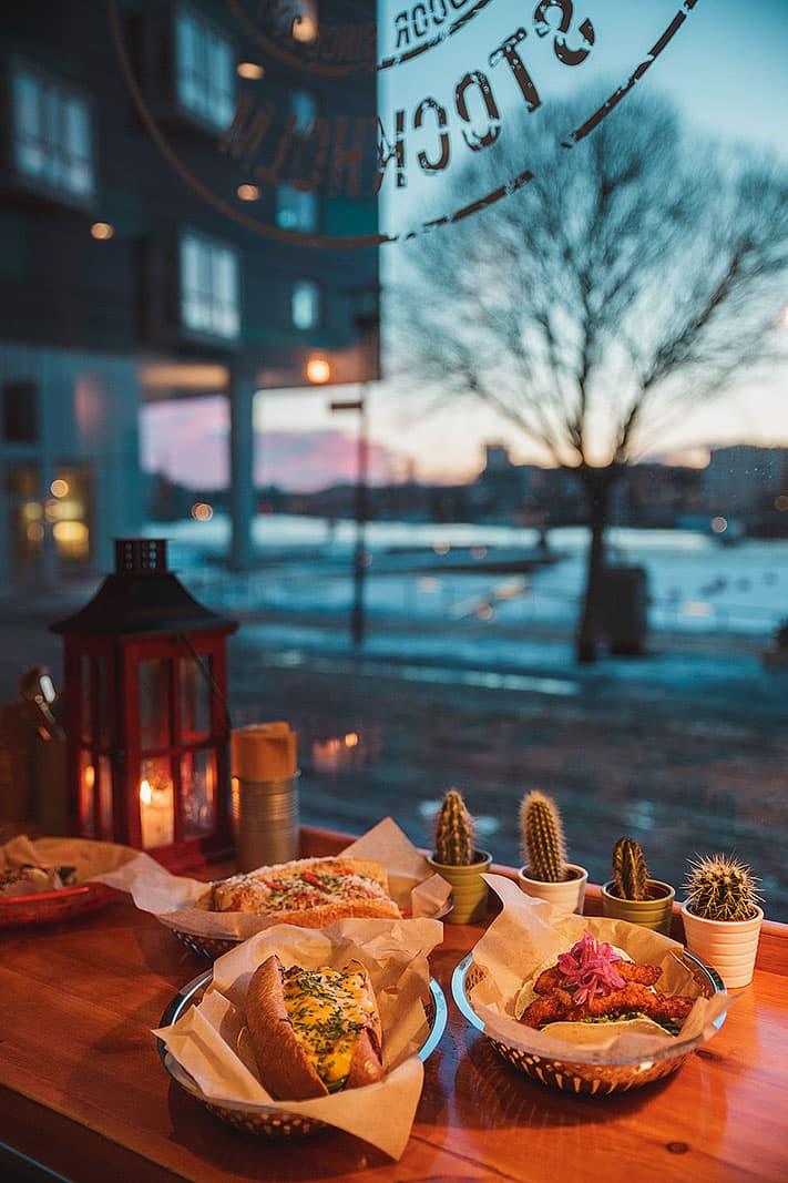 Freds Kitchen  Snabbmatsrestaurang  Hammarby sjstad