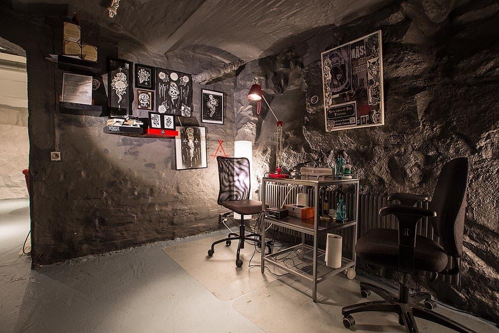 Tattoo Studio Interior Design