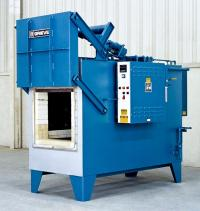 Tempering furnace designed for heat treating weldments ...