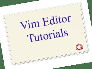 10 Vim Tutorials to Jumpstart Your Editor Skills