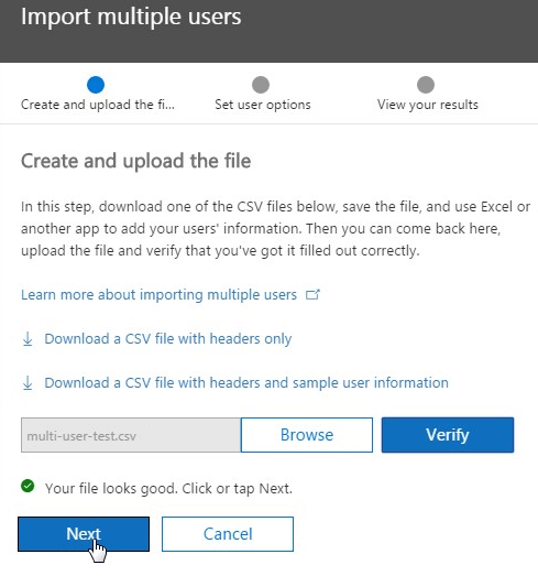 Office 365 Create and Upload File
