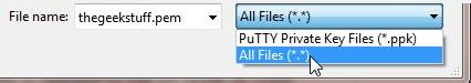 Puttykeygen Selecionar tudo Arquivo