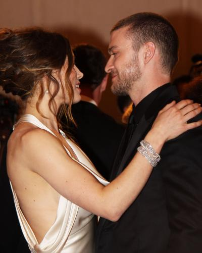 Justin Timberlake and Jessica Biel in Love