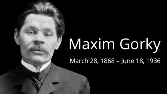On This Day: Maxim Gorky - The Moscow Times