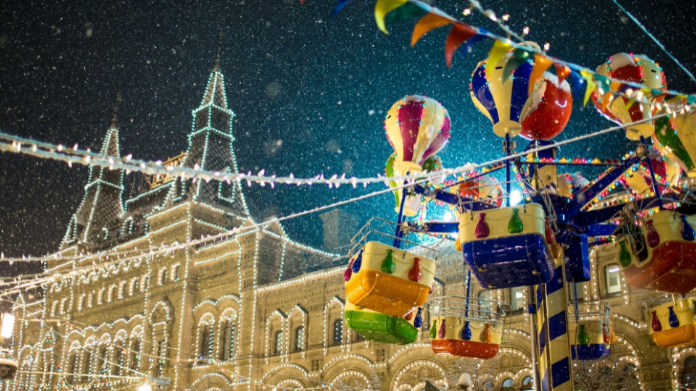 Image result for moscow christmas