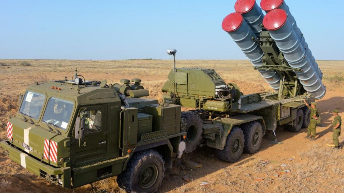 Image result for S-400 Russian anti-aircraft system
