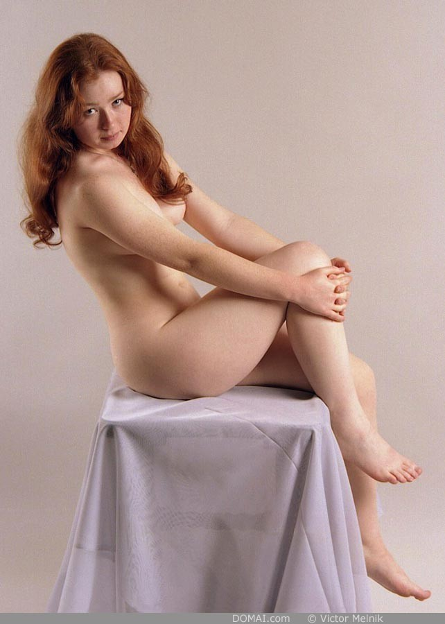 Ginger nude pics in Set 1 shot by Victor Melnik from DOMAI