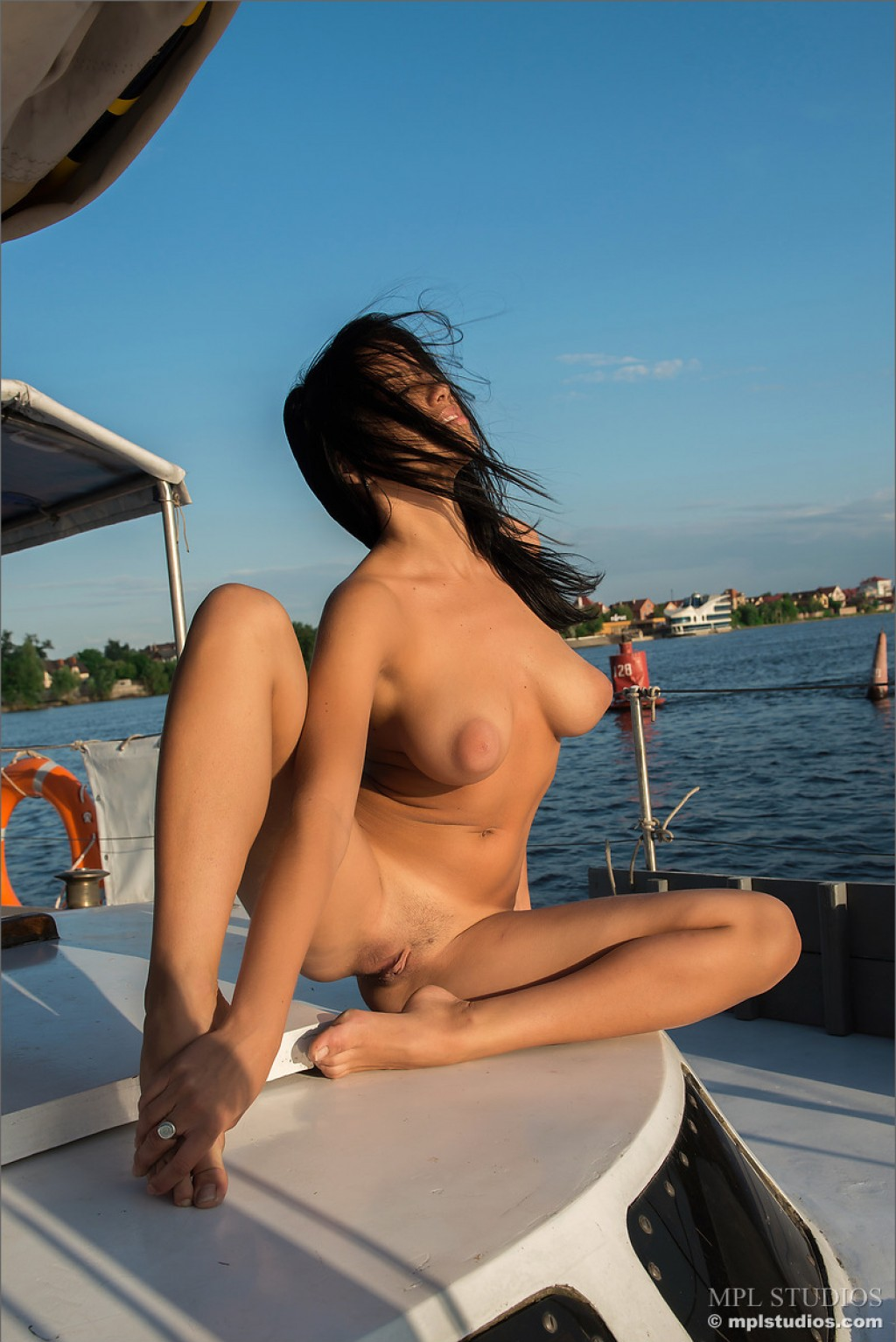 Taija nude pics in Calypso shot by Alexander Petek