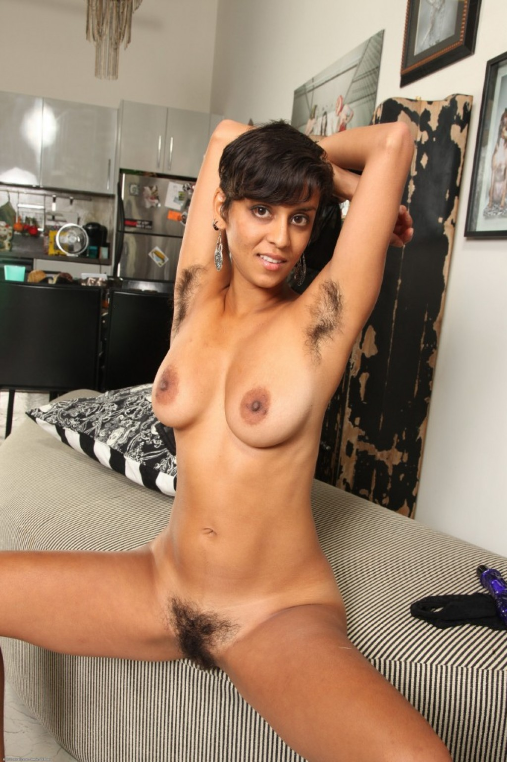 Sonya nude pics in exotic and hairy from ATKPETITES