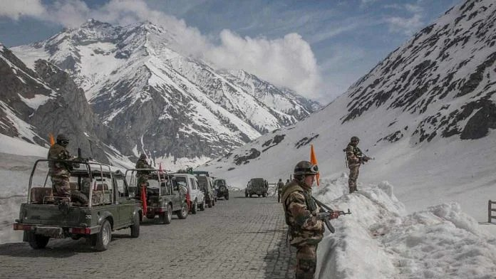 File image of Indian soldiers in Ladakh   By special arrangement