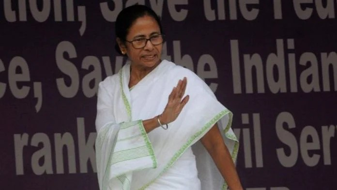 File photo of West Bengal Chief Minister Mamata Banerjee   Photo: Ashok Nath Dey   ThePrint
