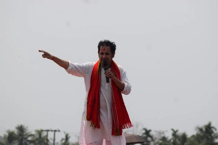 File photo of Pradyot Kishore Deb Barman | Twitter