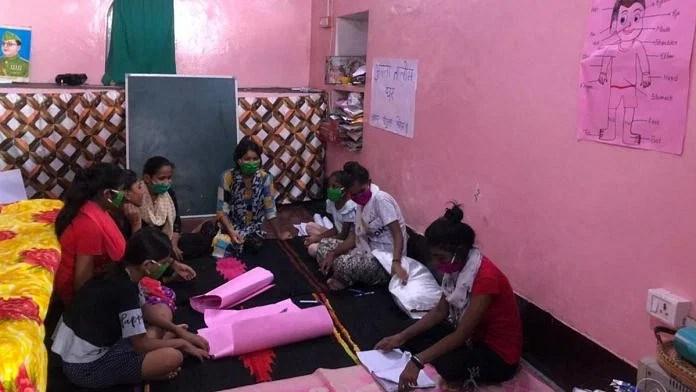 Girl students study at a 'Apna Taleem Ghar' centre in Ayodhya   Jyoti Yadav   ThePrint
