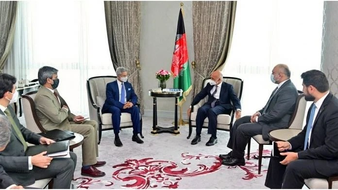 External Affairs Minister met Afghan President Ashraf Ghani on 15 July 2021 | Twitter | @DrSJaishankar