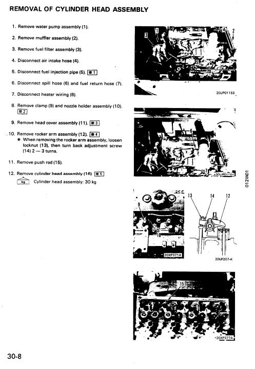 Komatsu Hydraulic Excavator Service Manual PC75UU-1 2908