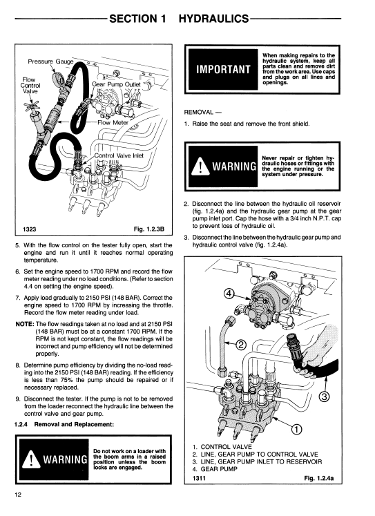 Chassis Ford CL40 Skid Steer Service Manual Diagnostic