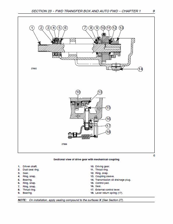 New Holland TN60VA, TN75VA, TN95VA Tractor Service Manual