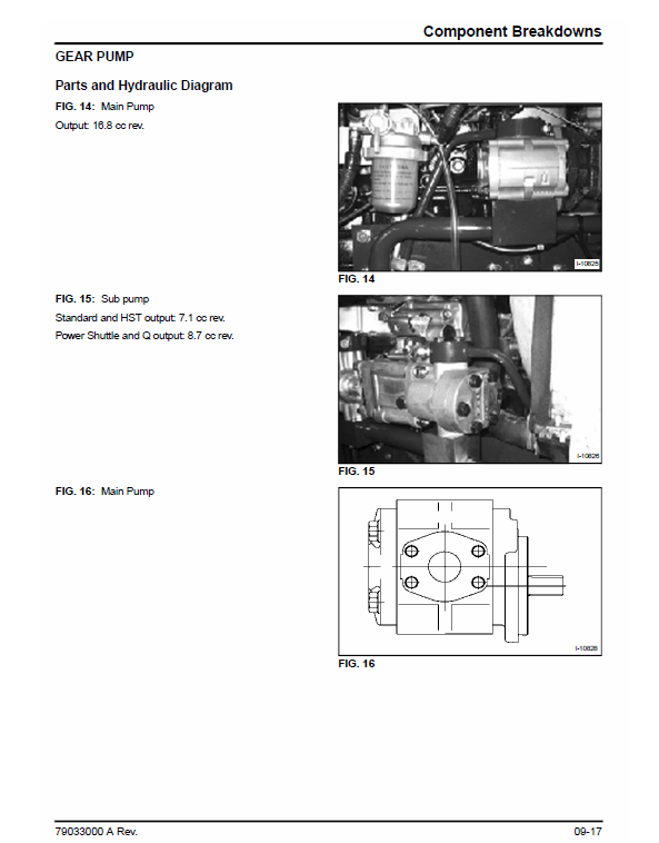 AGCO ST34A, ST41A Tractor Service Manual
