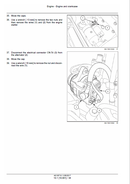 Case CX33C Mini Excavator Service Manual