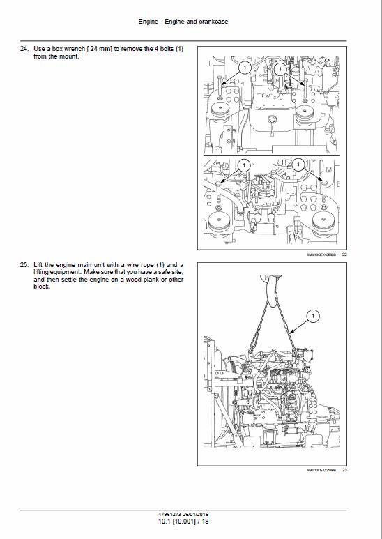 Case CX210D Crawler Excavator Service Manual