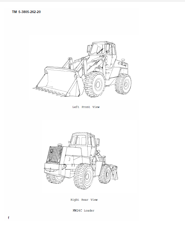 Case MW24C Wheel Loader Service Manual