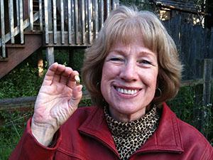 Kathleen lost her wedding ring in San Francisco