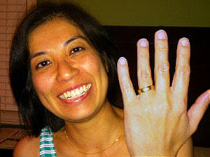 Lost Wedding Ring Found on Stinson Beach