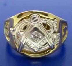 Mason's 32nd degree ring 1