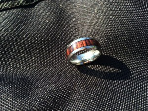 van ring closeup