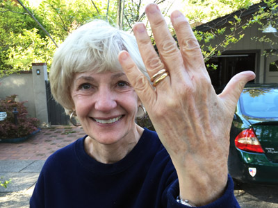Lost heirloom wedding rings found in Los Gatos