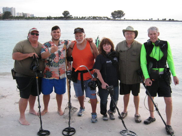 Clearwater beach lost and found Madeira Indian Rocks detector rental